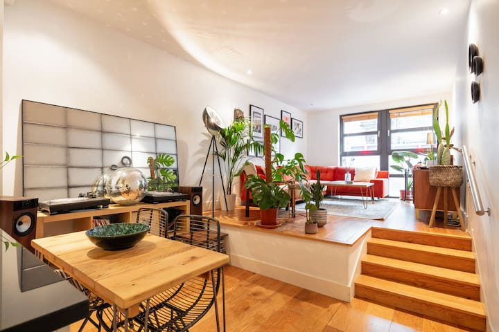 2Bed 2Bath 4Posterbed Plant Haven in London Fields