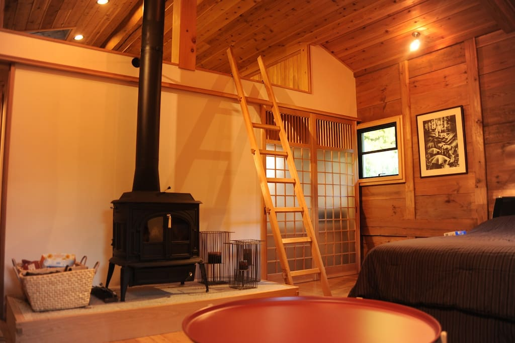 Wood Stove and Central Heating