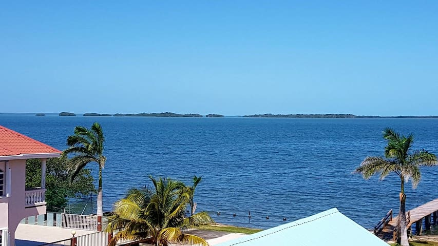 See Belize Panoramic Sea View 2-BR Vacation Rental - Belize City - Flat