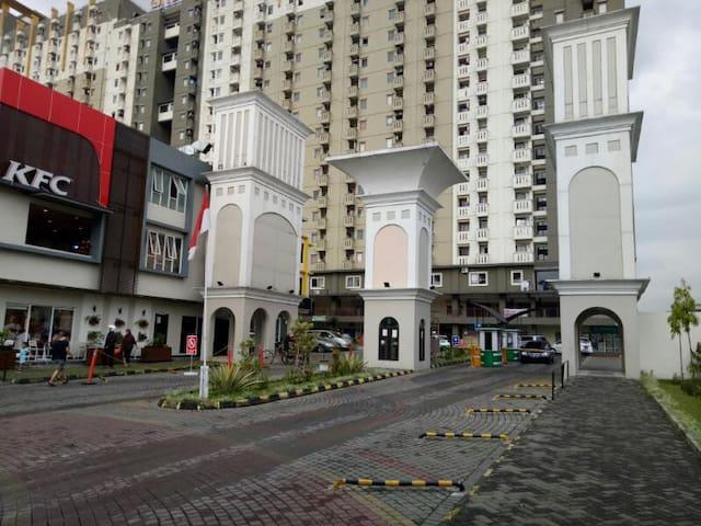 Disewakan Harian/Bulanan Apartemen Gateway Bandung