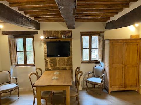 Romantisch studio-appartement in het hart van Pitigliano