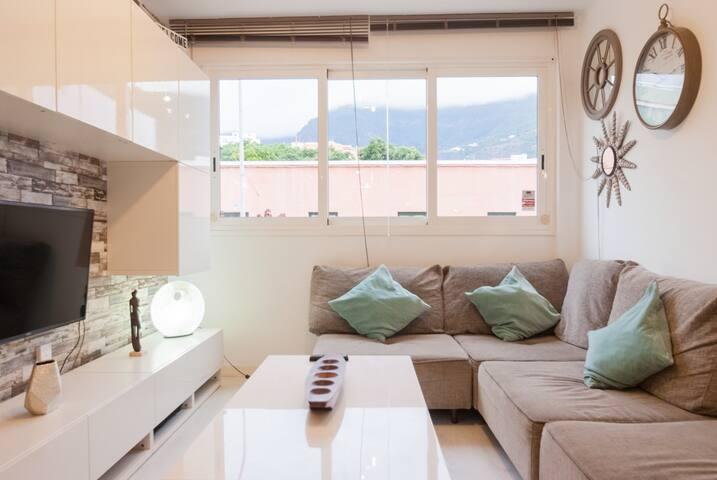 Cómodo y céntrico apartamento en Los Realejos