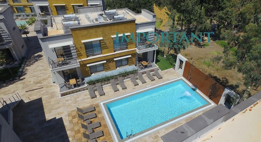 BD299 - 1Bdr Apart with shared pool Ortalent-Yahsi - Bodrum - Boutique-hotelli