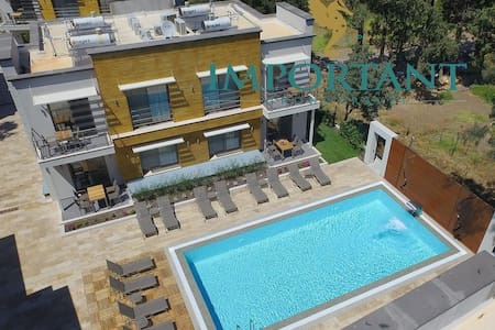 BD299 - 1Bdr Apart with shared pool Ortalent-Yahsi - Bodrum - Butik otel