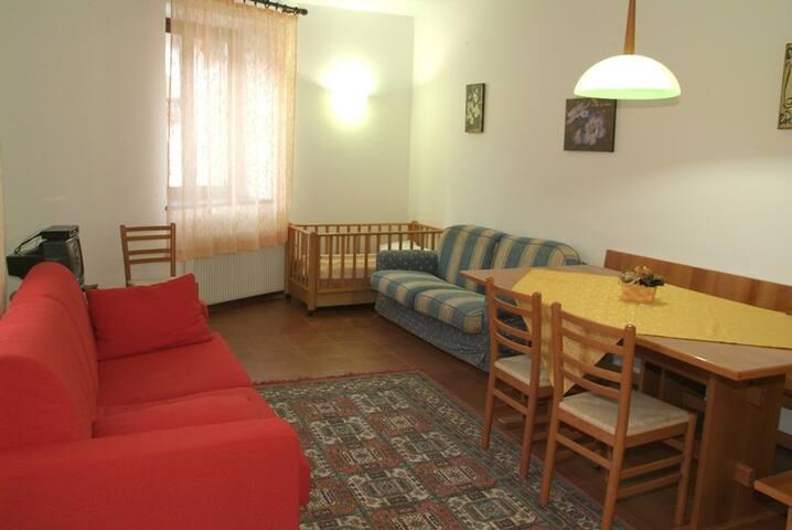 Appartamento nr. 3 con 6 + 2 posti letto