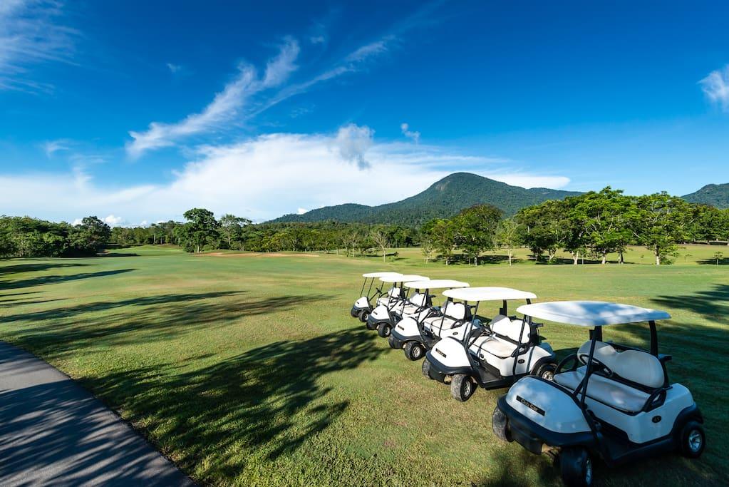 Golf Course at Soi Dao