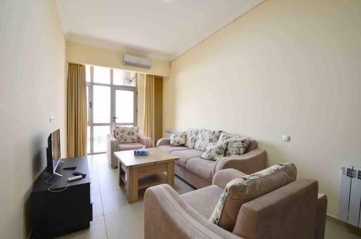 Ararat panoramic vie new apartment near cascade