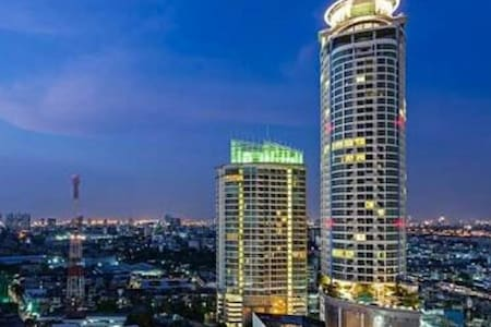 LUXURY 2BR above Phra Khanong BTS with great view - Bangkok - Condominium