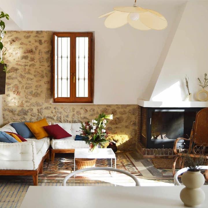 Villa Serrano, la casa de los mil suelos