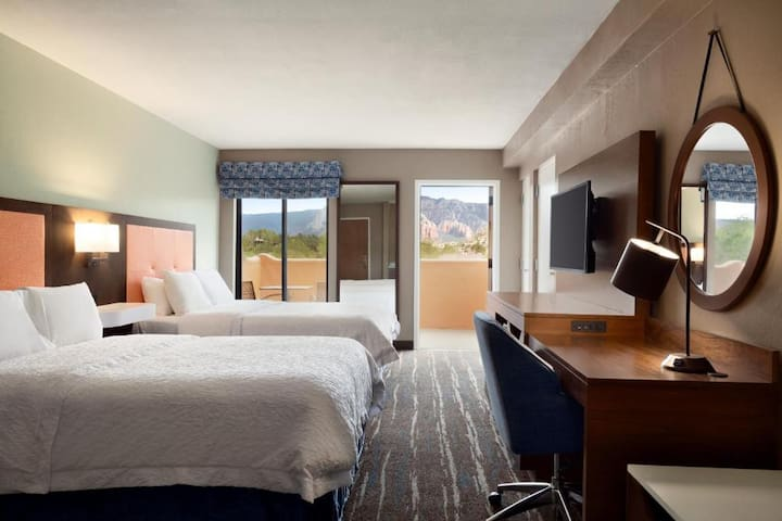 Competative Double Two Double Beds At West Sedona