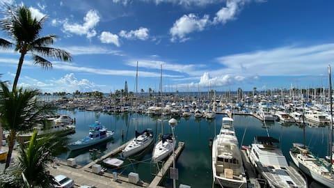 Ocean View Condo - Ilikai Marina Waikiki Honolulu