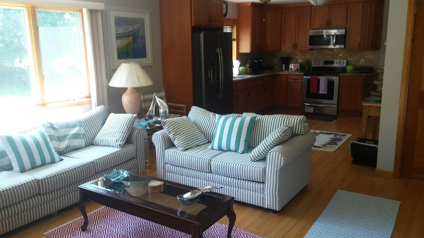 NORTH FORK RETREAT - PRIVATE 2 BR/1 BATH APT
