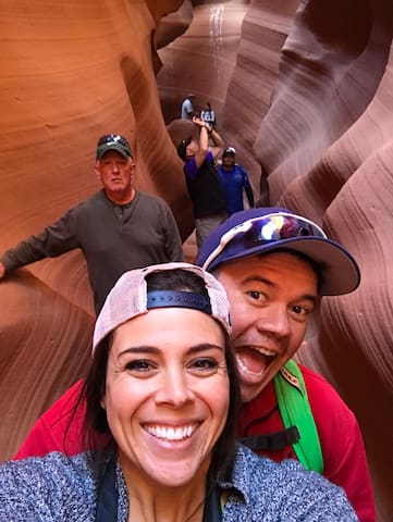 Spend a day exploring beautiful Antelope Canyon!