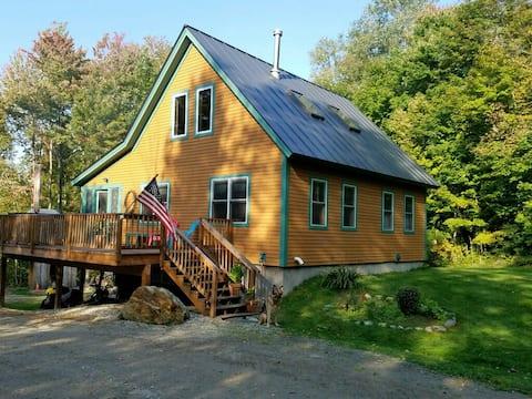 3 BDR Mtn Home near wedding barns, Smuggs/Stowe
