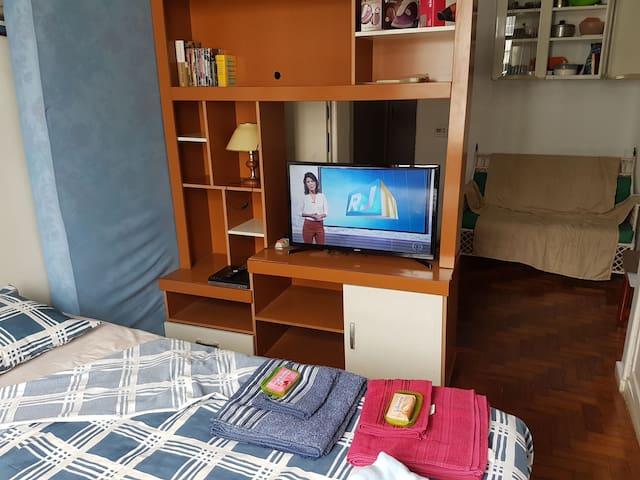 Estudio/dormitorio doble en Copacabana