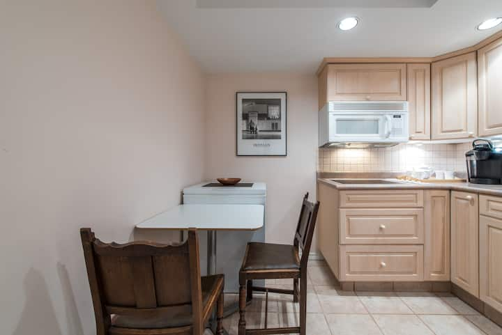 Large two bedroom suite with separate entrance!