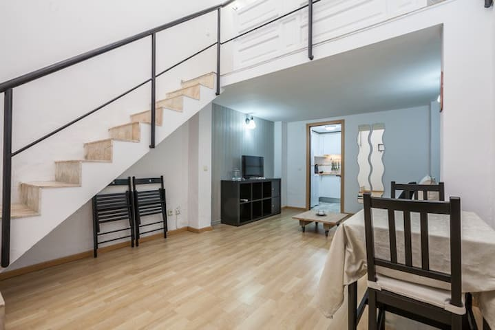 Acogedor y céntrico mini-loft Macarena, wifi - Sevilla - Appartement