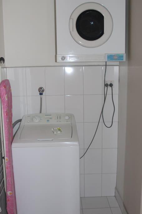 Executive Apartment Laundry