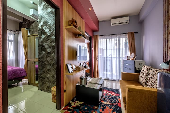 Cozy 2 Bed Room Apt - BSD Serpong - Full Furnished