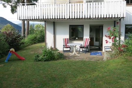 Holiday apartment Aida black Forest panoramic view - Baiersbronn - Pis