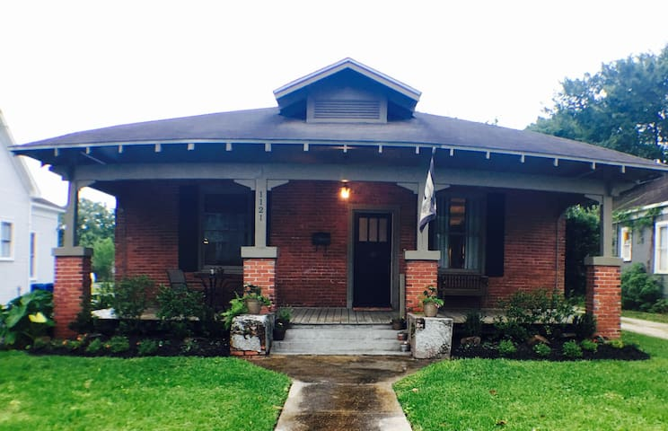 Cozy Historic Home in downtown LC! - Lake Charles - Huis