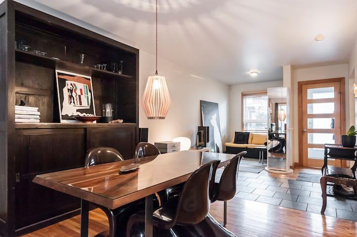 Charmant apartement avec COUR / TERRASSE, Plateau.