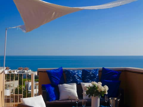 TOP PENTHOUSE*****: Luxe,Terrace 360° view, BBQ !!