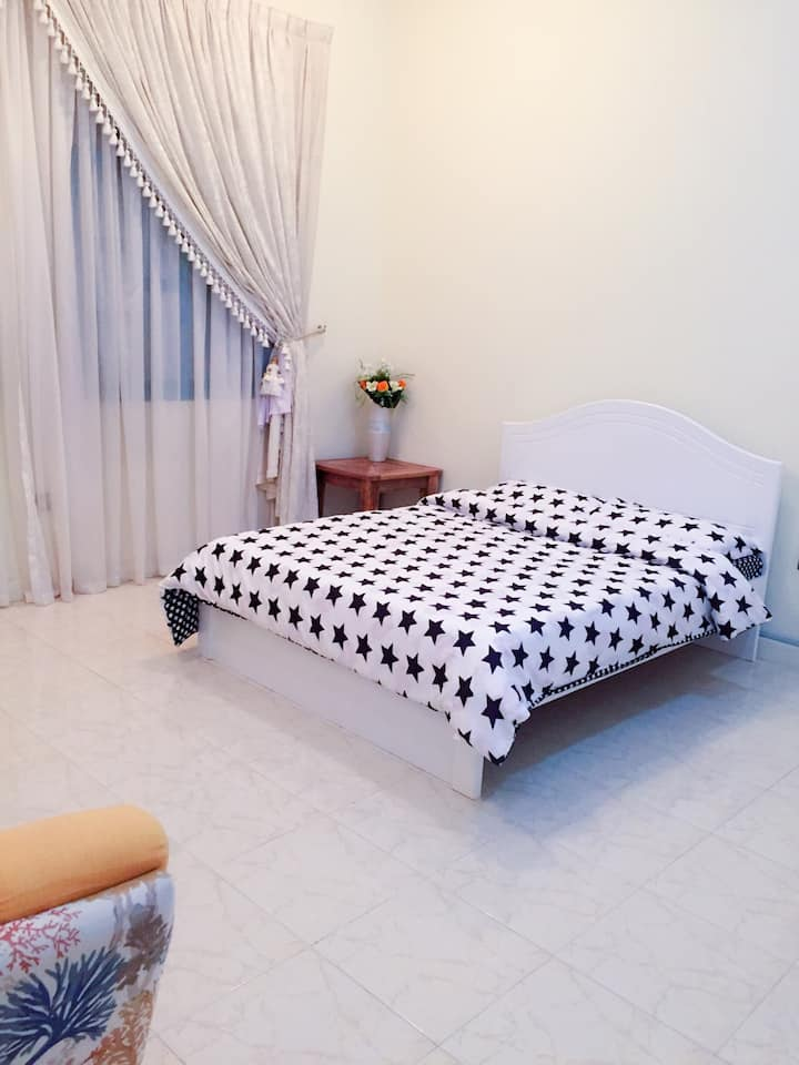 Sunny room in the villa