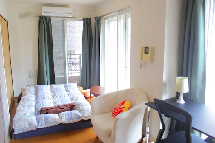 ☆Roppongi☆ 4  people max (Wi-Fi free rental!)