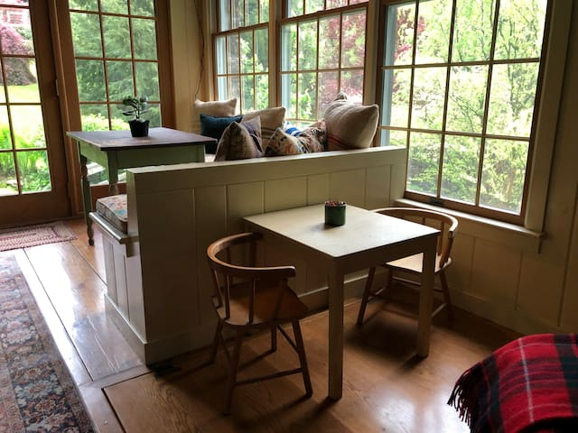 Breakfast nook and kids table