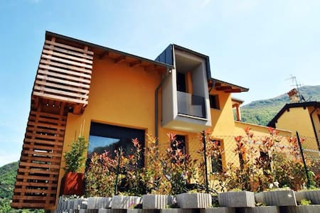 amazing modern view lake - Bellano