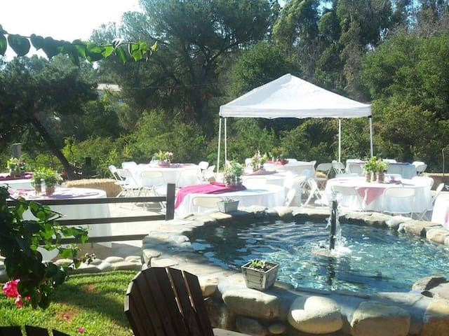 Rustic Event Location & Guest House - La Habra Heights - Annat