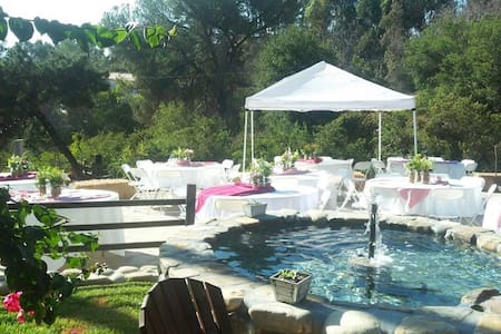 Rustic Event Location & Guest House - La Habra Heights