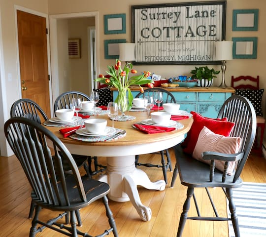 Surrey Lane Cottage Guidebook--Ideas for things to do, places to go, and where to eat and drink.