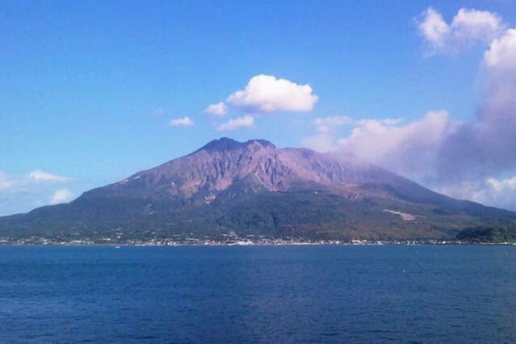 Sakurajima, which boasts the Kagoshima Prefectural