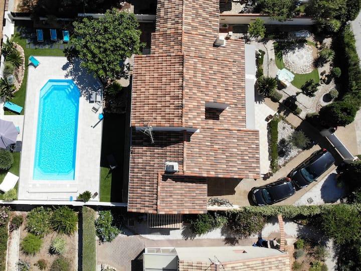 Villa 7pers La Londe Les Maures face aux îles d'Or