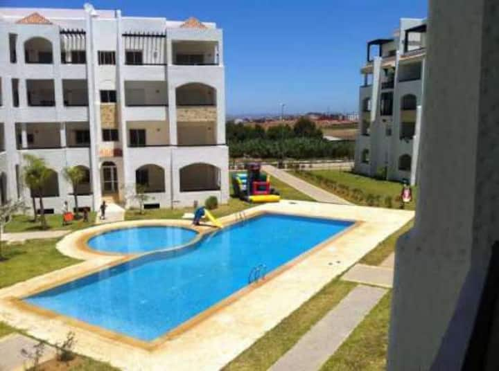 Appartement situer asilah marina golf