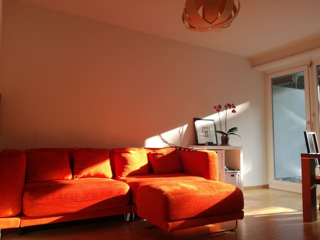 Nice flat with balcony, city center - Basel - Daire