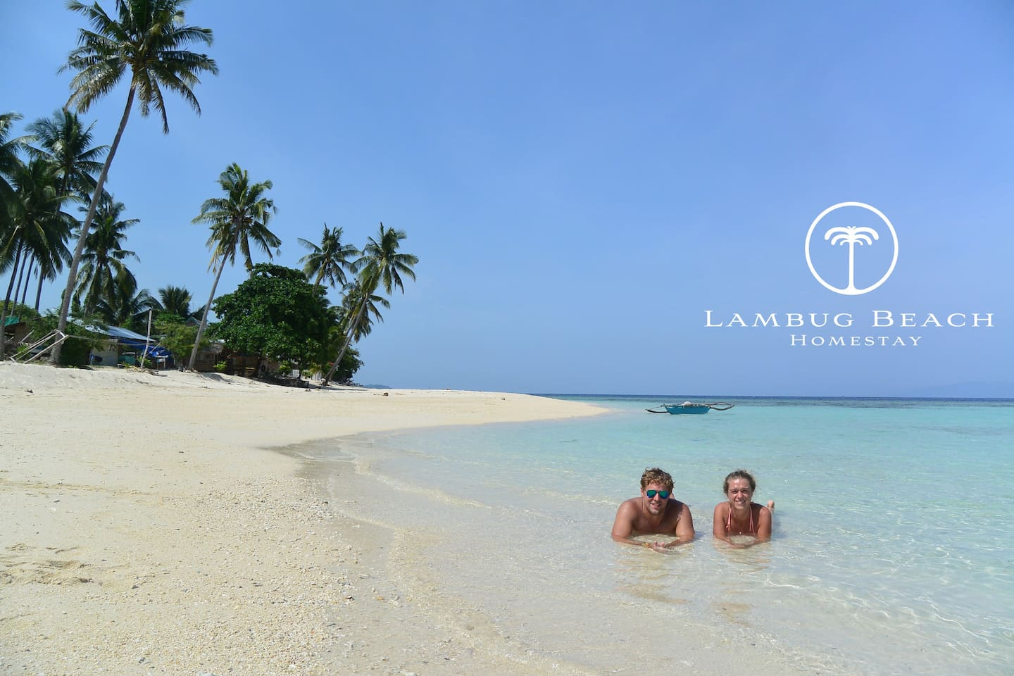 It's more fun at Lambug Beach and here you will find your peace