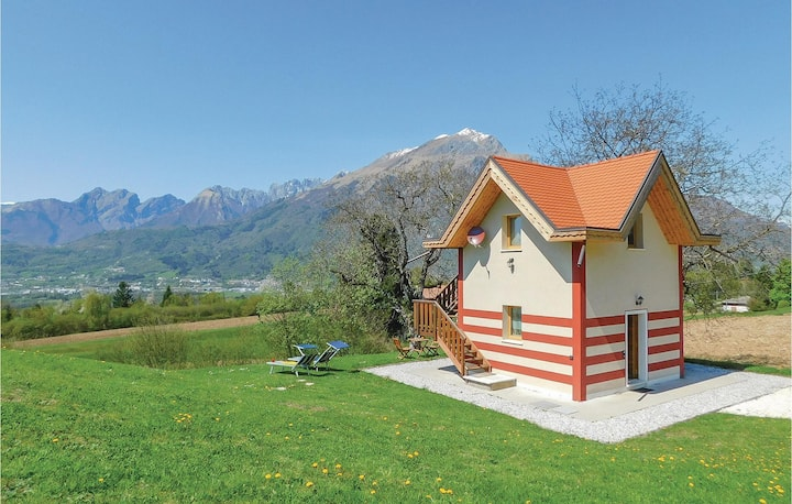 Awesome home in Belluno BL with 1 Bedrooms and WiFi
