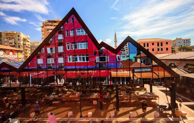 Colorful Pazari ⚡ Enjoy Albania Apartments