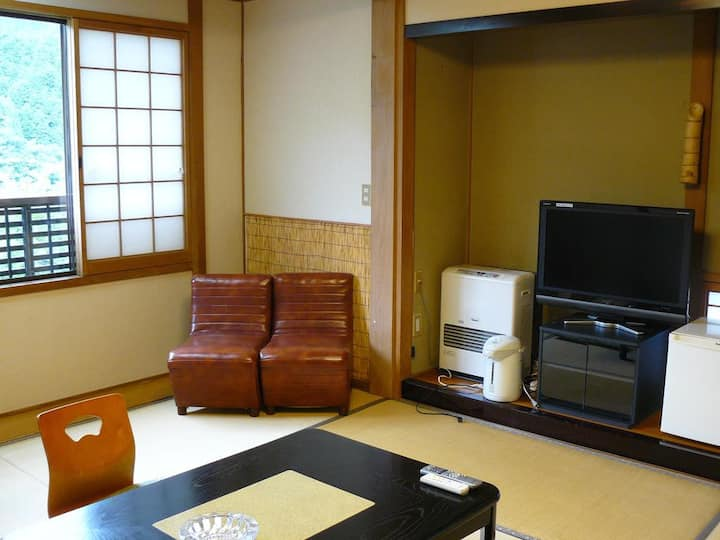 Ryokan Yamashiroya  Japanese-Style Twin Room with