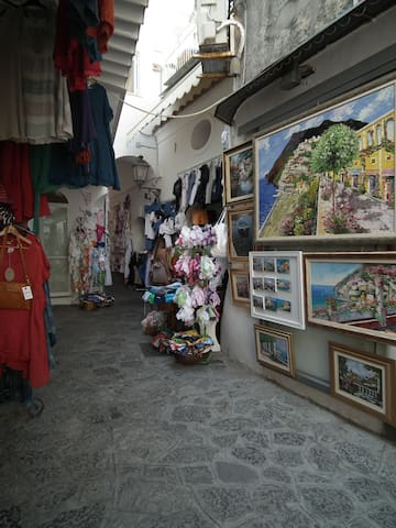 Positano  shopping