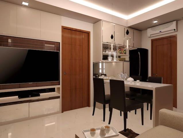 Surabaya Luxury Educity Apartment 2BR+1BRPrinceton