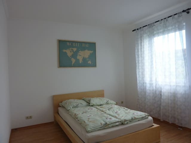 Bedroom for 2 people &Bedroom one person avalibile