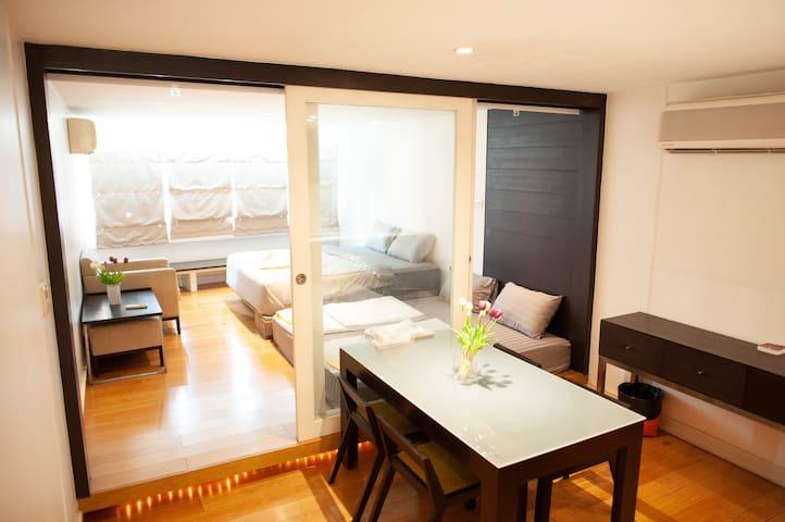 FINE HOME Silom apartment 5fl(BTS Surasak station)