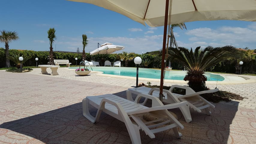 Villa bellissima con piscina