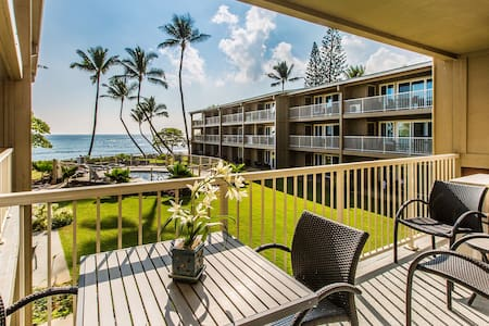 3BR Oceanfront A/C & HD & Wi-fi