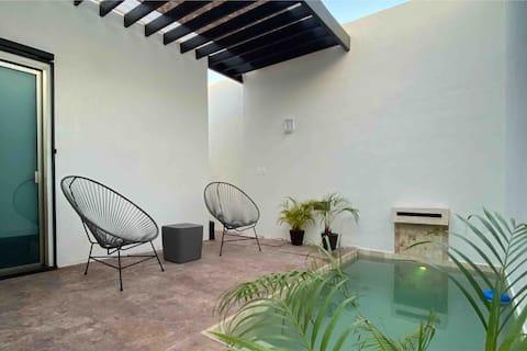 Casa Olivo cálida y completa, excelente ubicación