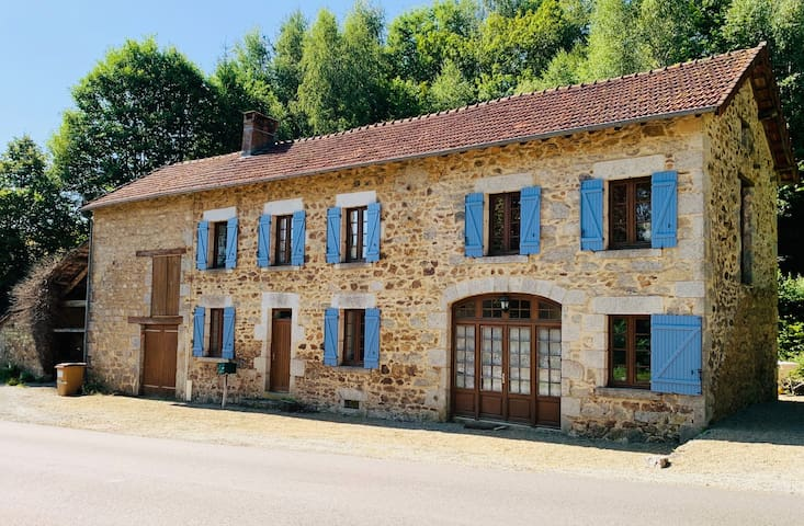 Large Traditional French Farmhouse